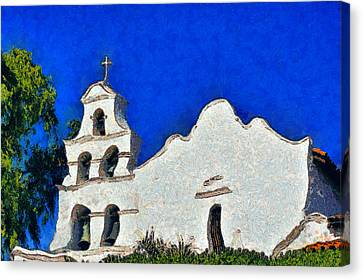 Mission San Diego De Alcala Canvas Print by Christine Till