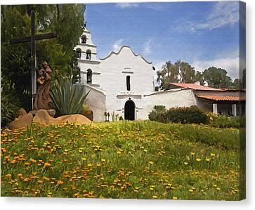 Mission San Diego De Alcala Canvas Print