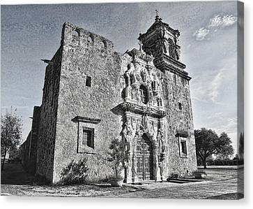 Mission San Jose - No 2 Canvas Print by Stephen Stookey