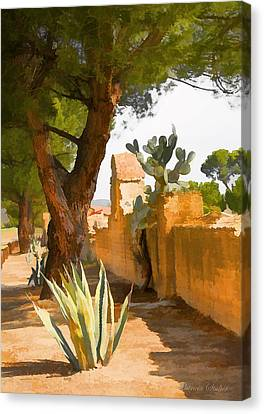 Mission San Miguel Wall Canvas Print
