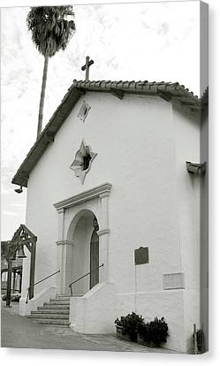 Mission San Rafael Arcangel Canvas Print by Art Block Collections