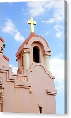 Mission San Rafael Parish Church Canvas Print by Art Block Collections