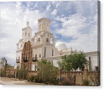 Mission San Xavier Canvas Print