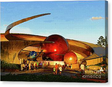 Mission Space Canvas Print