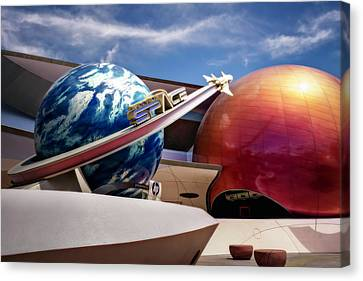 Canvas Print featuring the photograph Mission Space by Eduard Moldoveanu
