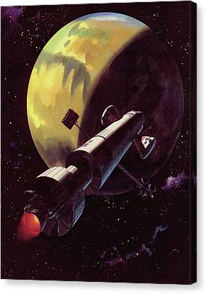 Mission To Mars Canvas Print by Wilf Hardy