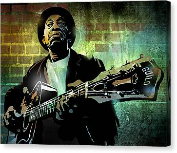 Mississippi John Hurt Canvas Print by Paul Sachtleben