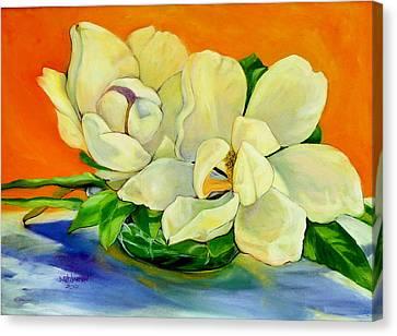 Mississippi Magnolias Canvas Print