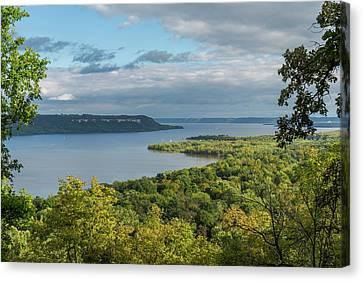 Mississippi River Lake Pepin 11 Canvas Print