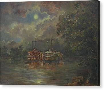 Mississippi Canvas Print by Tigran Ghulyan