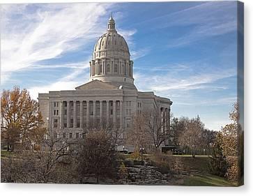 Missouri Capital Canvas Print