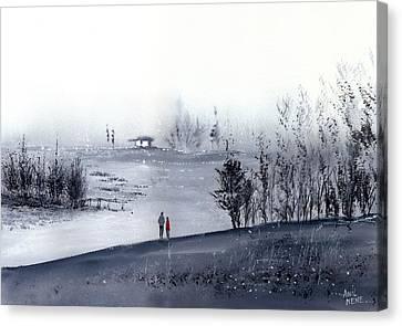Mist Canvas Print by Anil Nene