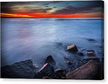 Misted Mystic Canvas Print by Peter Tellone