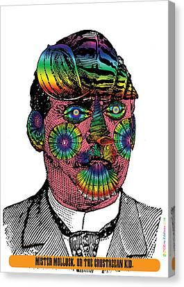 Mister Mollusk Canvas Print by Eric Edelman