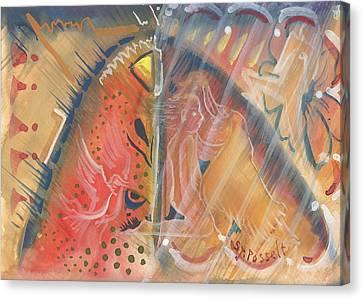 Mistic Cave Canvas Print by Sheri Jo Posselt