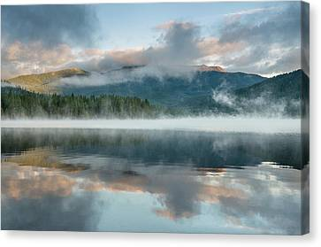 Mists Of The Summer Dawn Canvas Print by Greg Nyquist