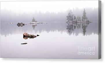 Misty Algonquin Morning Canvas Print