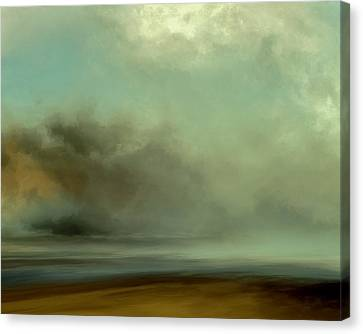 Misty Cove Canvas Print