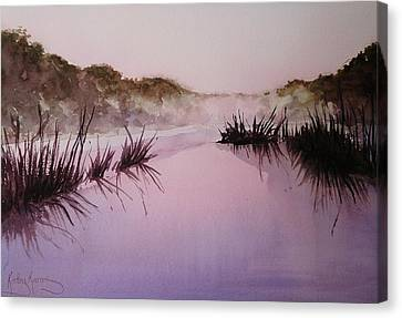 Misty Dawn Canvas Print