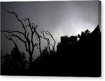 Misty Montserrat Canvas Print by Jason Hochman