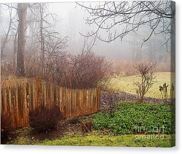 Canvas Print featuring the photograph Misty Morn by Betsy Zimmerli