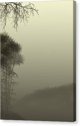 Misty Morn Canvas Print by Trilby Cole
