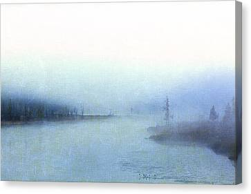 Misty Morning Canvas Print by Catherine Alfidi