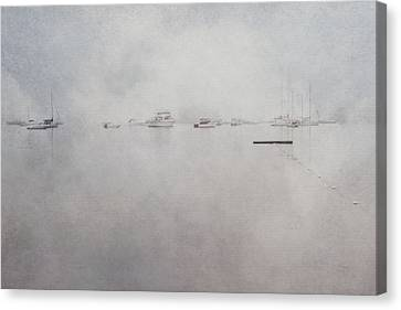 Misty Morning On The Coast - Acadia National Park - Maine Canvas Print