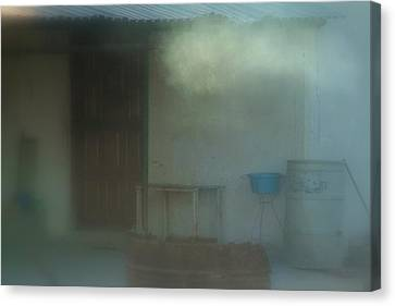 Misty Mornings.. Canvas Print by Al  Swasey