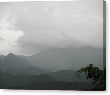 Misty Mountain High Canvas Print by Raven Moon