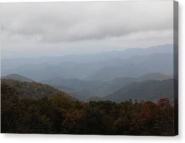 Misty Mountains More Canvas Print