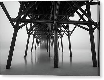 Misty November Morning I Canvas Print by Ivo Kerssemakers