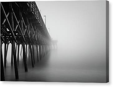 Misty November Morning II Canvas Print by Ivo Kerssemakers