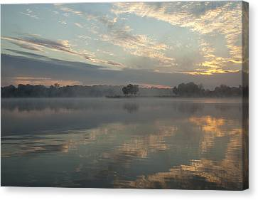 Misty Reflections Canvas Print