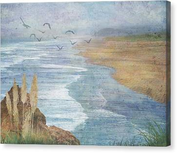 Misty Retreat Canvas Print by Christina Lihani