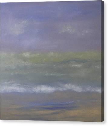 Misty Sail Canvas Print