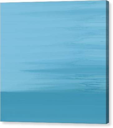 Misty Sea Canvas Print by Frank Tschakert