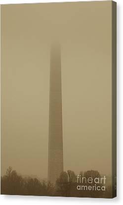 Misty Sky Canvas Print by Hideaki Sakurai