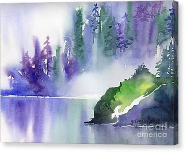 Misty Summer Canvas Print