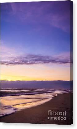 Misty Sunrise Canvas Print by Marvin Spates