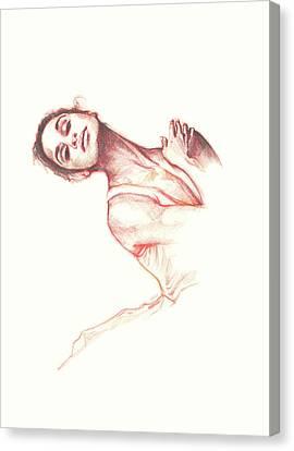 Misty, The Dancer Canvas Print
