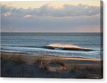 Misty Waves Canvas Print
