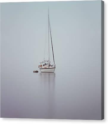 Misty Weather Canvas Print by Stelios Kleanthous