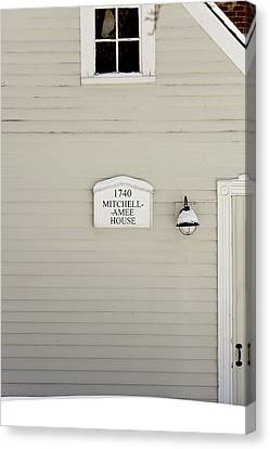 Mitchell-amee House Canvas Print