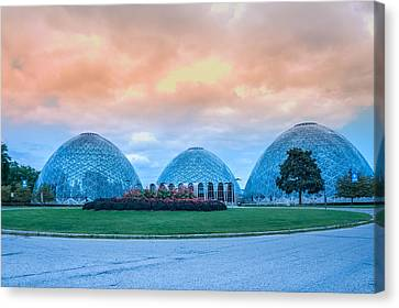 Conservatory Canvas Print - Mitchell Park Conservatory,the Domes by Art Spectrum