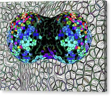 Mitosis Between Consenting Cells Canvas Print by Bruce Iorio
