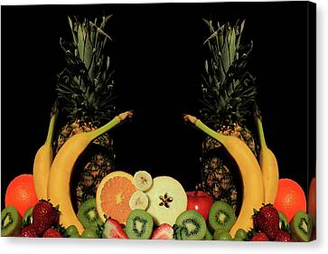 Canvas Print featuring the photograph Mixed Fruits by Shane Bechler