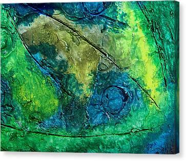 Mixed Media 01 By Rafi Talby Canvas Print by Rafi Talby