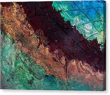 Mixed Media 04 By Rafi Talby Canvas Print by Rafi Talby
