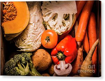 Mixed Vegetable Produce Pack Canvas Print by Jorgo Photography - Wall Art Gallery